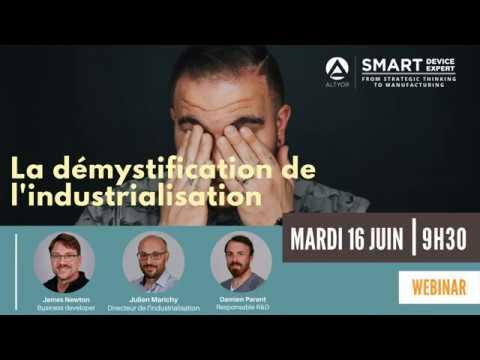 [WEBINAR] Démystification de l'industrialisation de votre smart IoT device