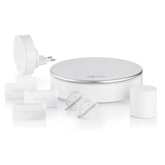 somfy home alarm fond blanc