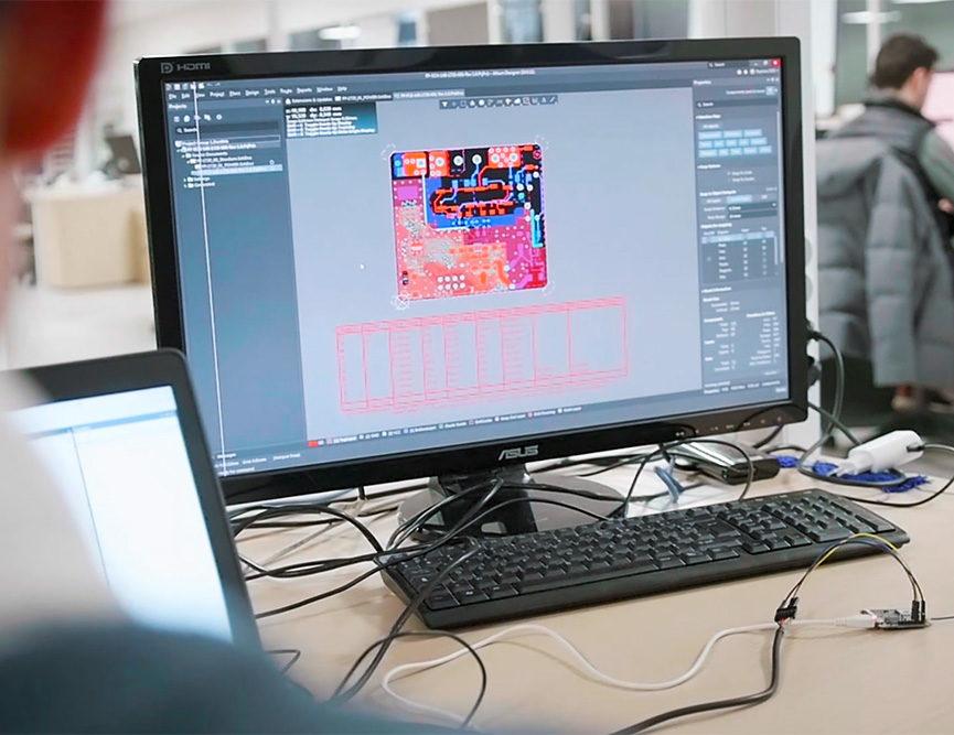 conception carte électronique