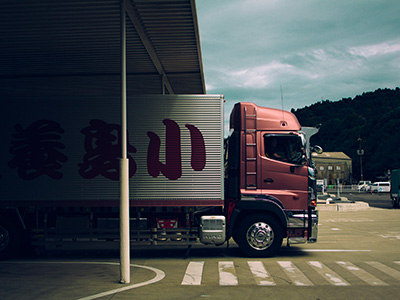 transport tracking france chine
