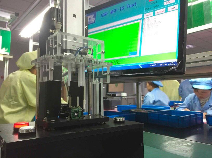 banc de test production chine
