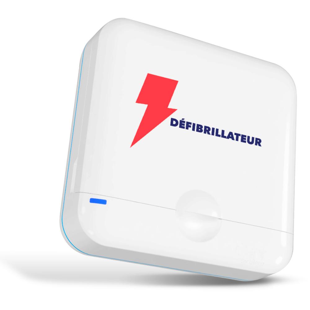 defibrilateur connecte